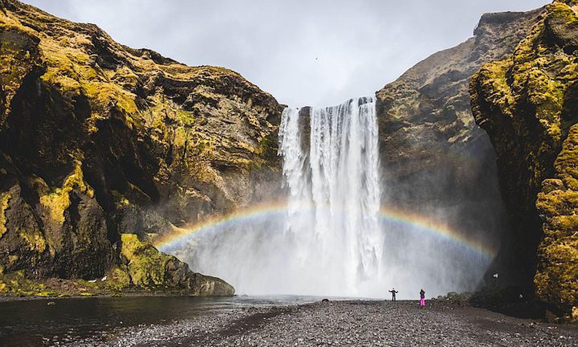 Wasserfälle trocknen aus